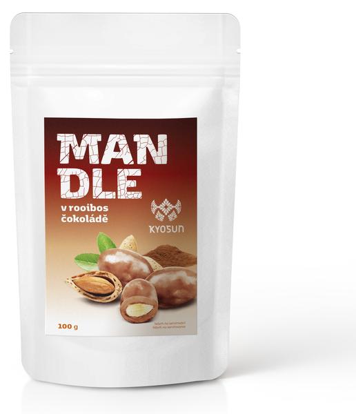 Mandle v Kyosun rooibos čokoládě 100 g
